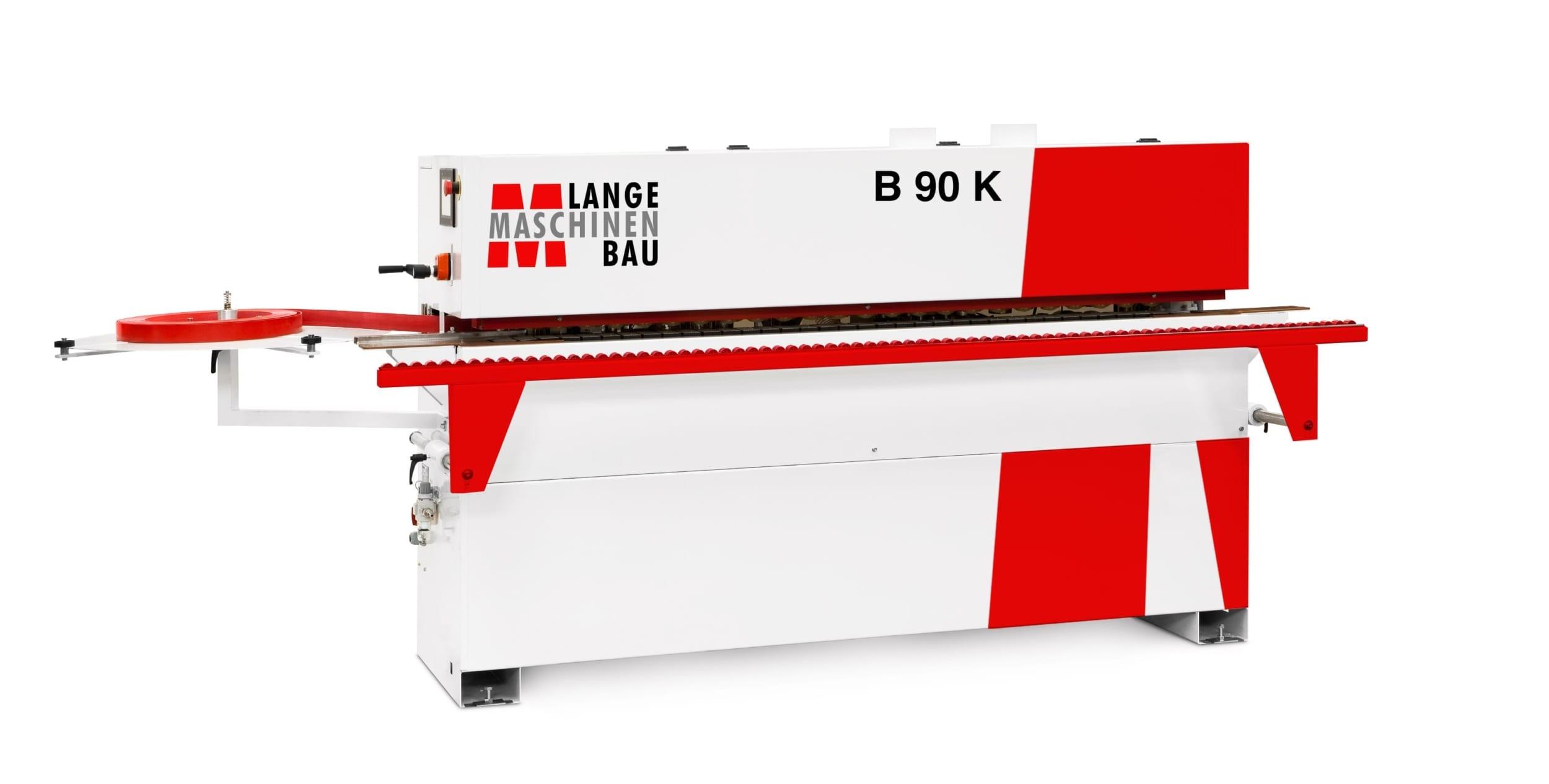 B90K Lange Kantenanleimmaschine Slider